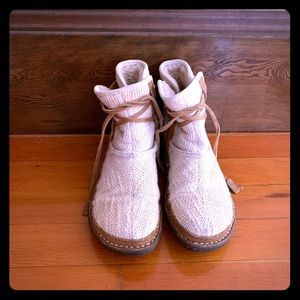 White UGG Short Boots